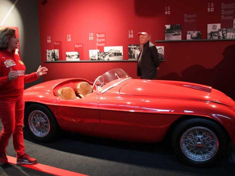 Visita al museo Ferrari a Maranello