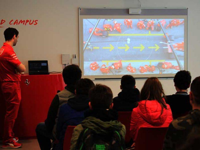 Red Campus, gita a Maranello